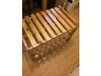 Ikea Tryta bench/stool