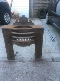 Selling cast iron fire place insert