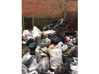 Rubbish waste junk removed cheap skip alternative