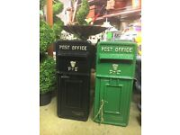 Brand new P & T Style Post Boxes (GARDEN FURNITURE PATIO HOUSE NEW)