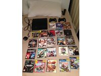 Ps3. 23 games. 2 controllers