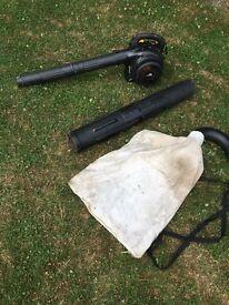 McCulloch GBV325 leaf blower/vacuum spares or repair