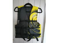 America's Cup Yellow/Black 50N Foam Buoyancy Aid Jacket
