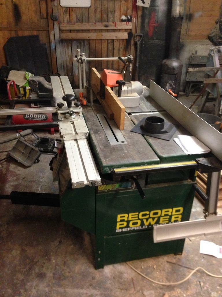 Record Power Table Saw Planer Thicknesser Spindle Moulder
