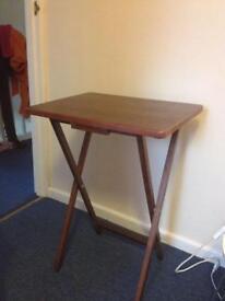 Folding table like new