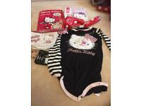 Hello Kitty goodies dress bags necklace etc etc