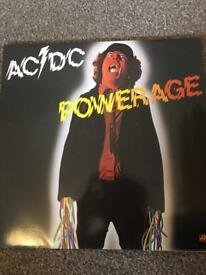 AC/DC POWERAGE - 1st Press 1978 VINYL