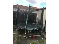 Trampoline for sale.
