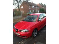 Seat Ibiza FR 1.8l turbo 20v. 12 month MOT no issues with car looks and drives great