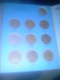 1860+ half penny old coins and notes
