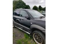 Hyundai Tuscan spares or repairs