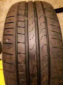 TWO PIRELLI TYRES !! RUNFLAT !! GOOD CONDITION !! 245/45/18 STILL 5MM TREAD
