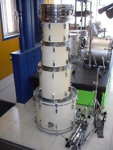 SUPER PRIX plusieurs Batteries,drums,cymbales,pieds, module drum élect et accessoires
