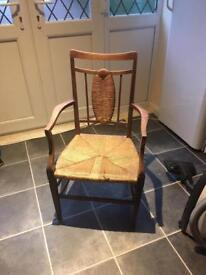Oak Arts and Crafts chair