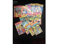Vintage comics - Sunny stories x 12 job Lot