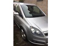Vauxhall Zafira Sri 140 bhp