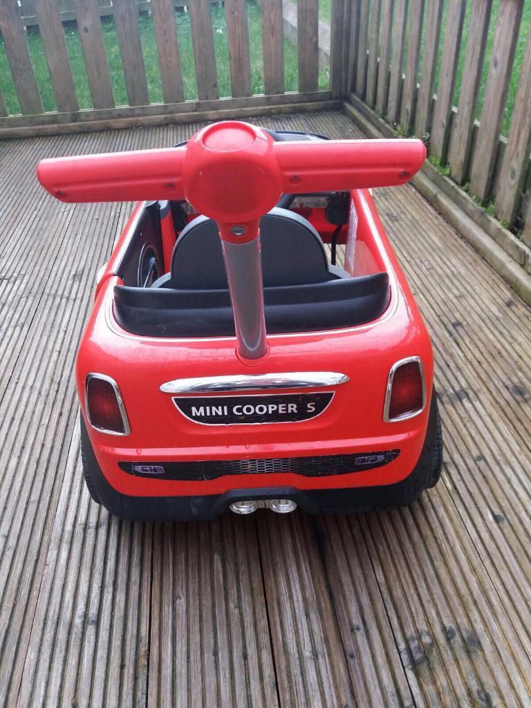 Mini Cooper s push buggy