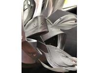 Silver/grey fascinator