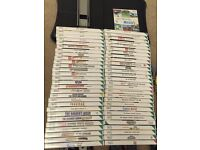 Wii Black Bundle + 57 games + Wii Fit