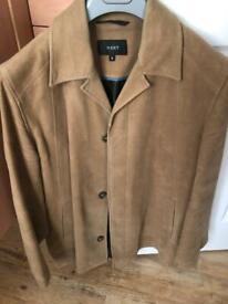 Men's Tan (Next) Button Up Jacket (S)