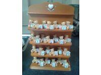 Gorgeous A-Z 'Cherished Teddies brand' & incs display unit