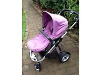 iCandy Apple Travel System - Pram with Carry cot - can be double - good condition