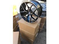 "4 18"" alloy wheels alloys rims tyre tyres Mercedes vw Volkswagen seat Skoda 112 fitment"