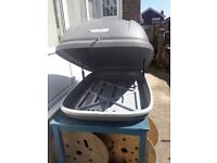 HALFORDS ROOF BOX 250 LITRE - USED