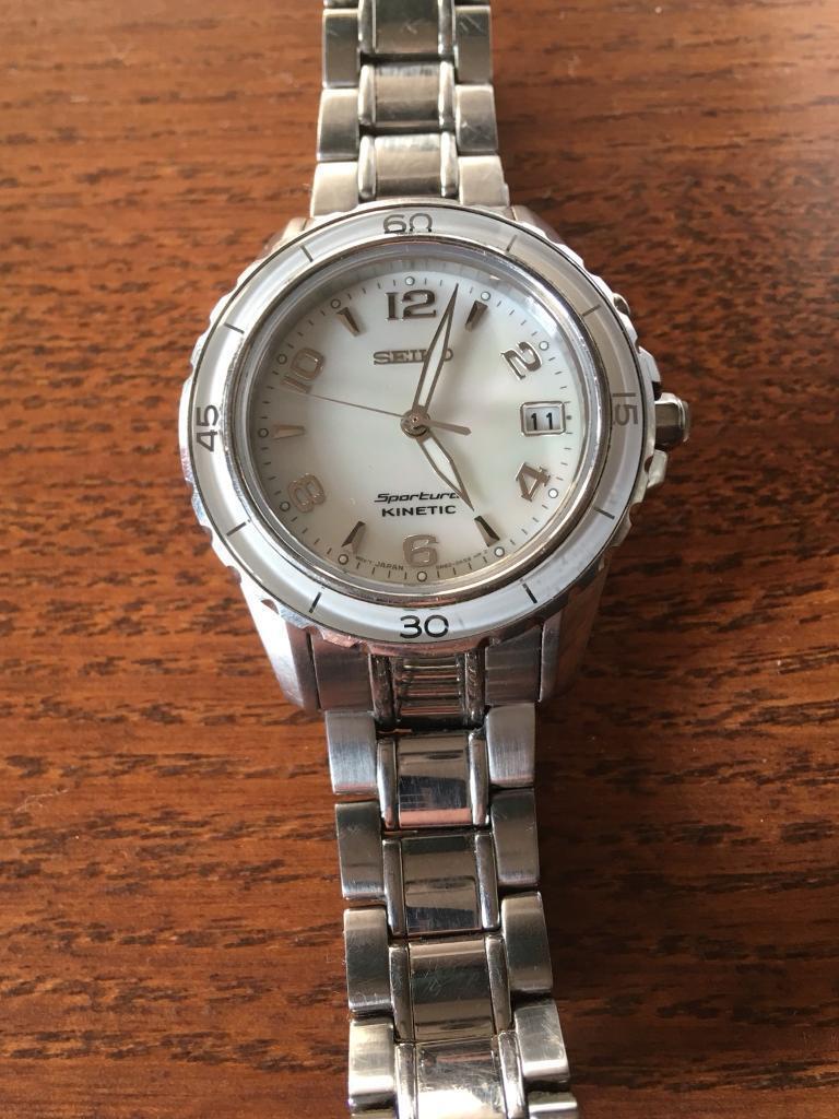 Seiko Women s Kinetic Watch  d9084d95d1