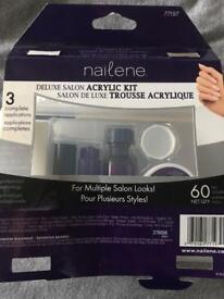 Acrylic nail set- nailene