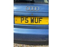 Personalised Registration Plate - P5 WUF