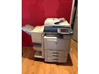 Panasonic A3 colour office photocopier, printer, scanner and fax machine