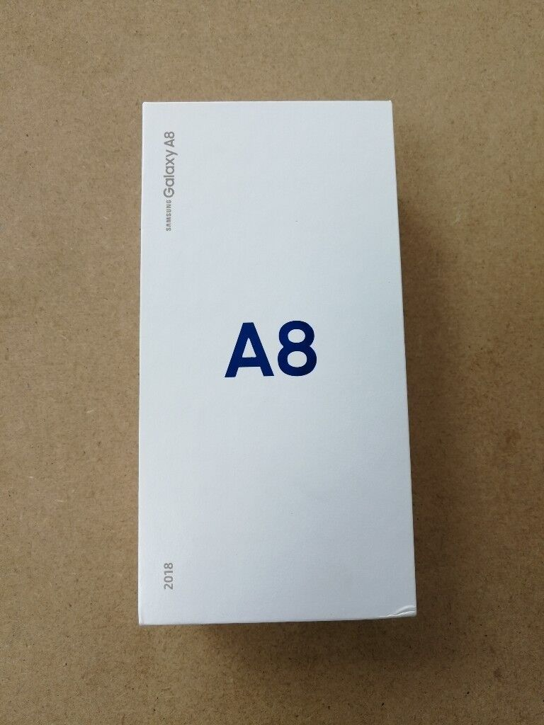 SAMSUNG GALAXY A8 32GB UNLOCKED BRAND NEW WITH WARRANTY AND RECEIPT