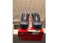 Nike air max 97 og royal/neon uk 9 & 8.5