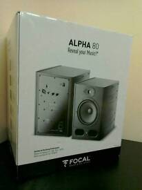 Focal Alpha 80 Studio Reference Monitor Speaker Music Production