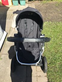 City Select baby jogger black, great condition