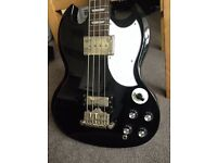 Epiphone EB-3 Electric Bass Guitar -Ebony/Black - Second Hand Great Condition
