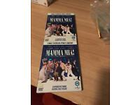 Mamma mia & twilight dvds