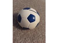 Blue Football Money box