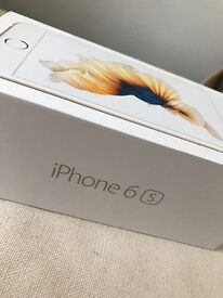 iPhone 6s: Gold/128gb/immaculate condition QUICK SALE
