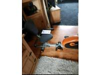 V.Fit Recumbent magnetic Exercise bike