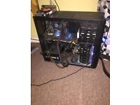 Gaming PC with peripherals