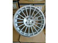 "Brand new 18"" stuttgart st2 - rotiform style alloy wheels 5x112"