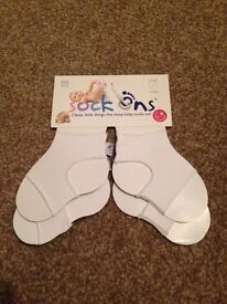 Brand new sock ons, 6 to 12 months