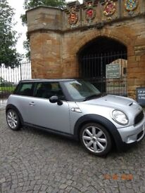 2008 Mini Cooper S Silver with Panoramic Roof