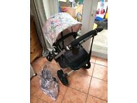 Bugaboo cameleon 2 in immaculate condition with custom hood