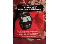 EZ pro Bowflex strapless heart rate monitor