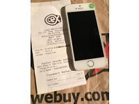 Apple i-phone 5S 16GB Silver