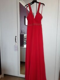COAST coral evening/ prom dress size 10