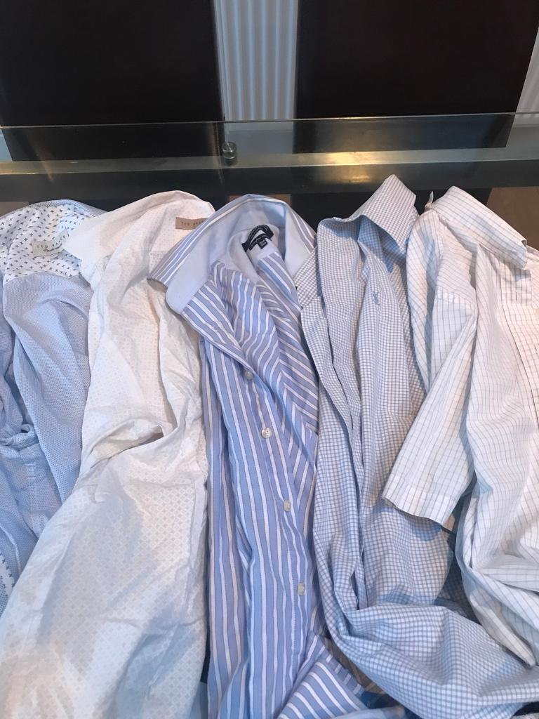 Five men's shirts ted baker YSL